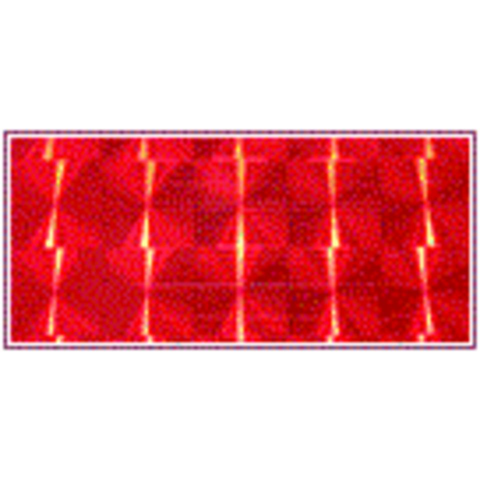 Голографическая пленка RTape Corporation Prizma Mozaic Red