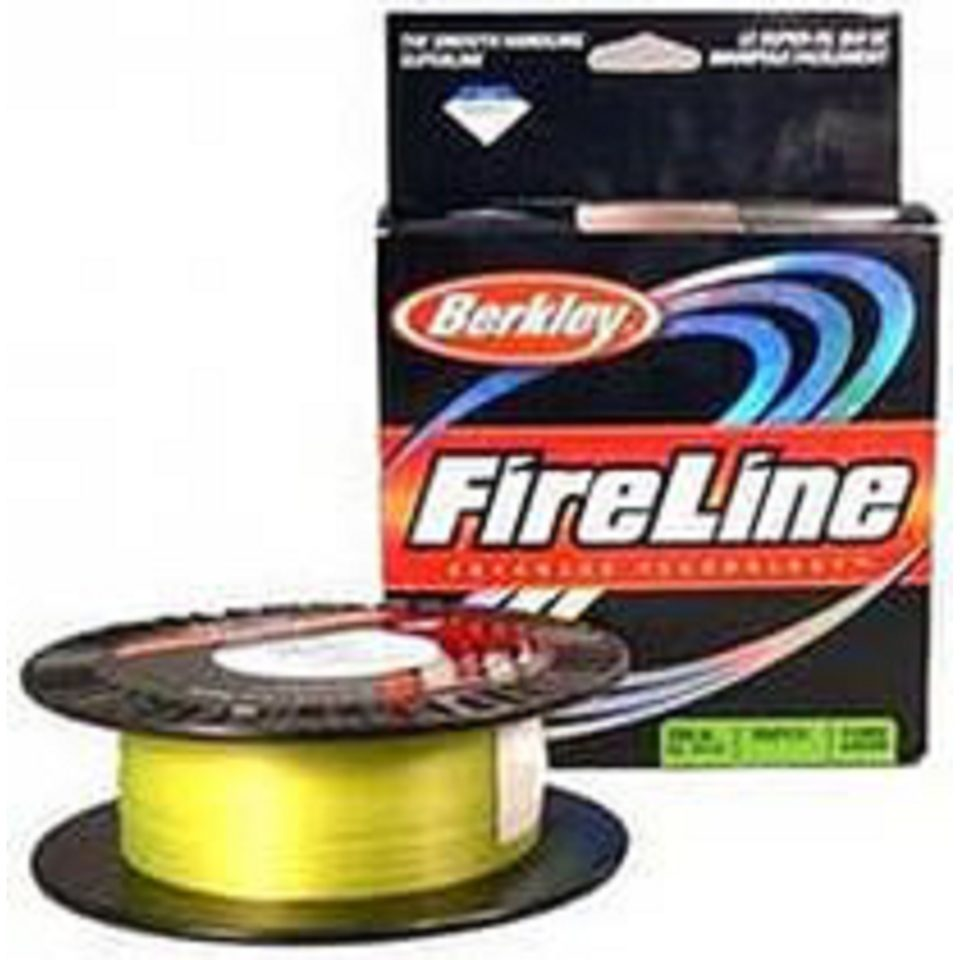 Berkley Fireline Flame Green