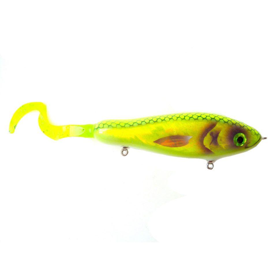 La Gatzo Snappy S Tail Chartreuse Foil