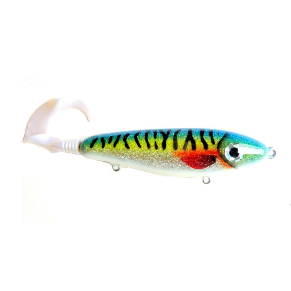 Джеркбейт BAN Fear Pike Tail Rainbow Mackerel