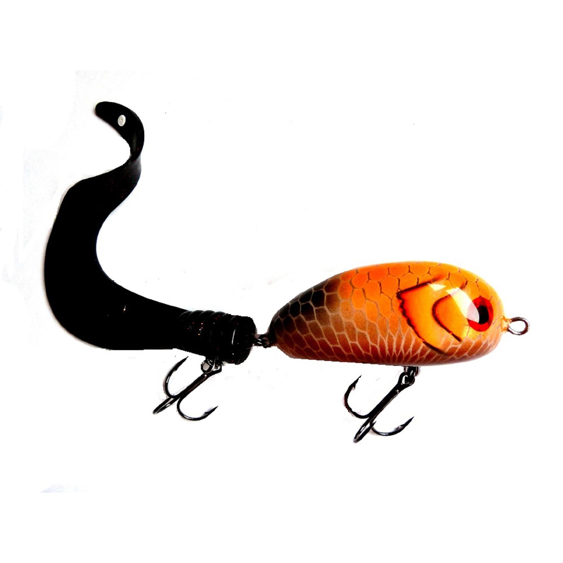 Bugagashka Tail Shallow Orange Black