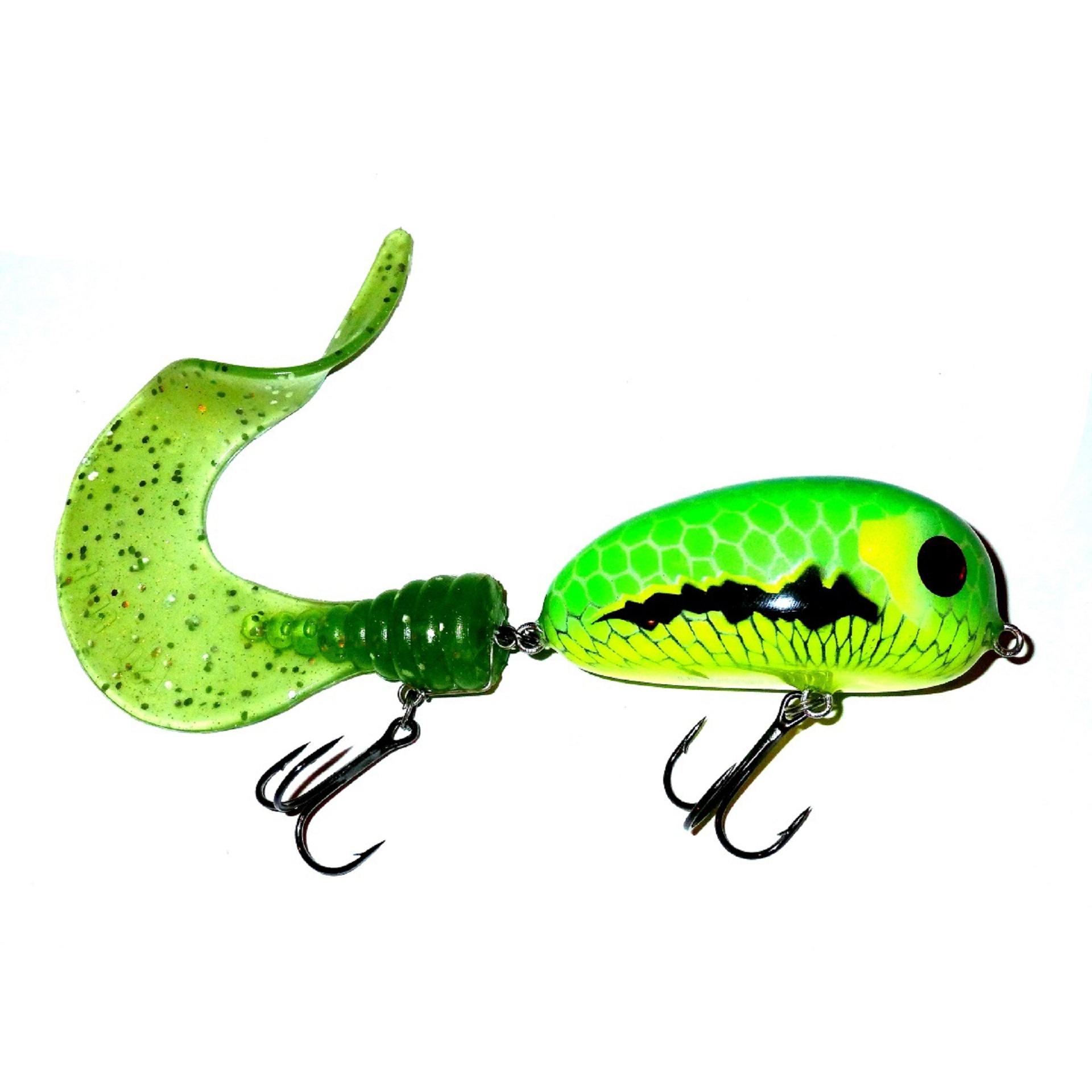 Bugagashka Tail Shallow Yellow Green