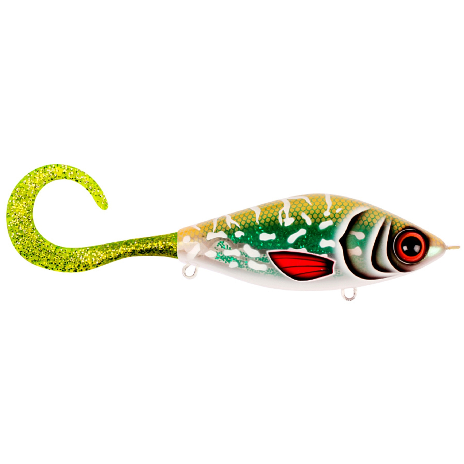Strike Pro Guppie Jr #TR-002 Glitter Pike Green