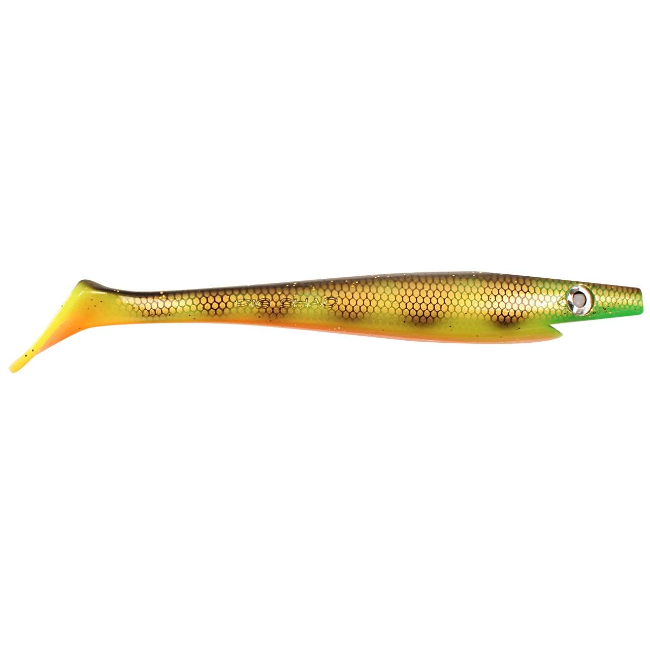 Купить софтбейт Strike Pro Pig Shad SP-172A#C039 Orange Belly Perch в магазине рыболовных снастей Джеркмания
