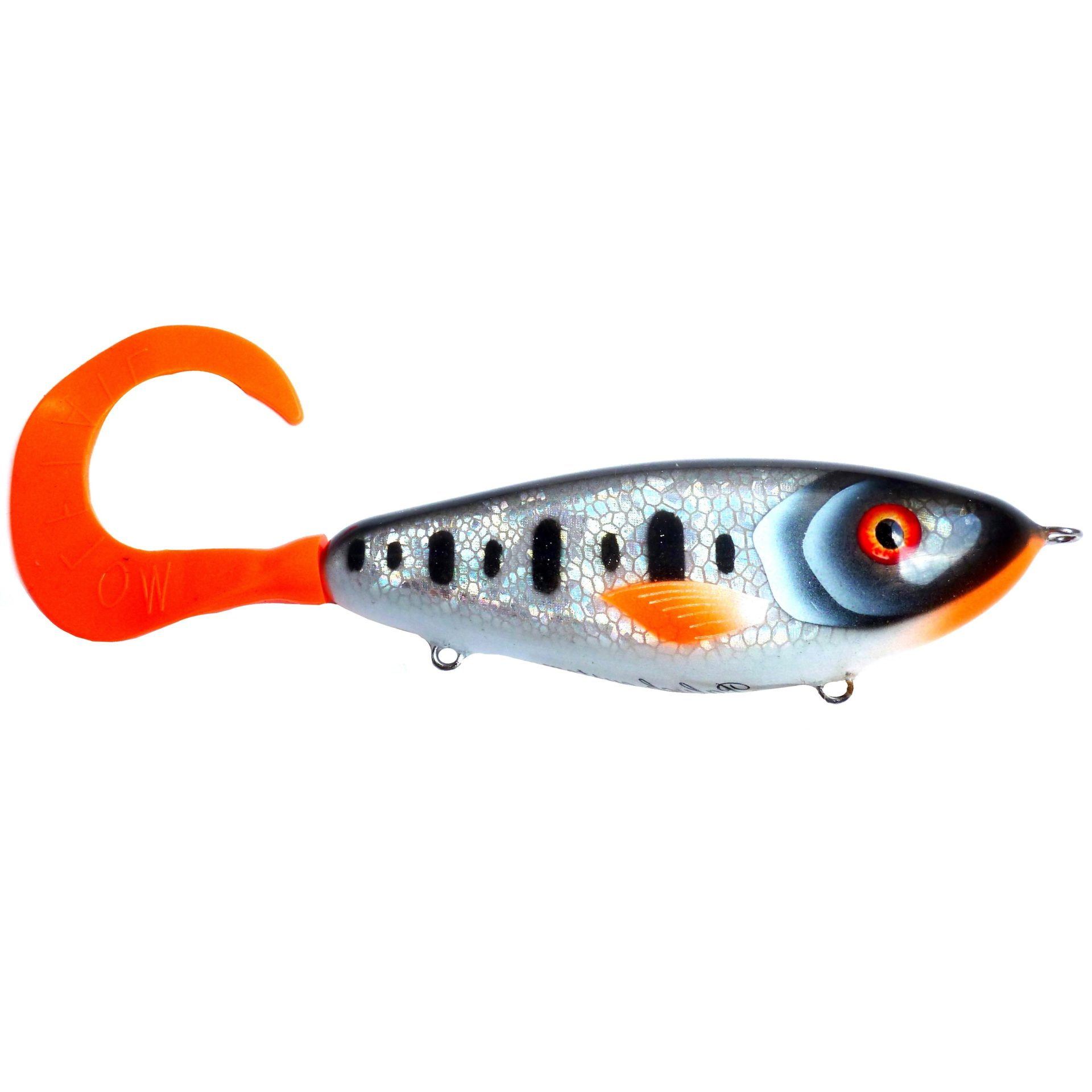 Palych Custom Renegade Petty Perch Tail Silver Foil Spotted