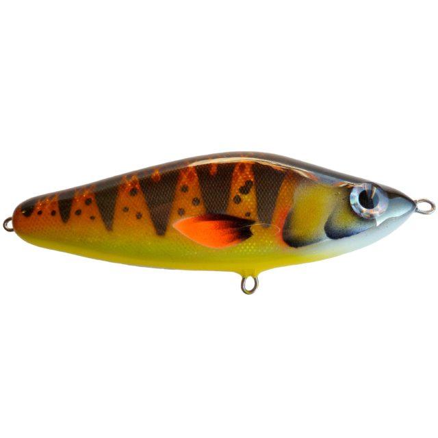 Джеркбейт Bubuka Bait Tango 155 Brown Yellow Perch