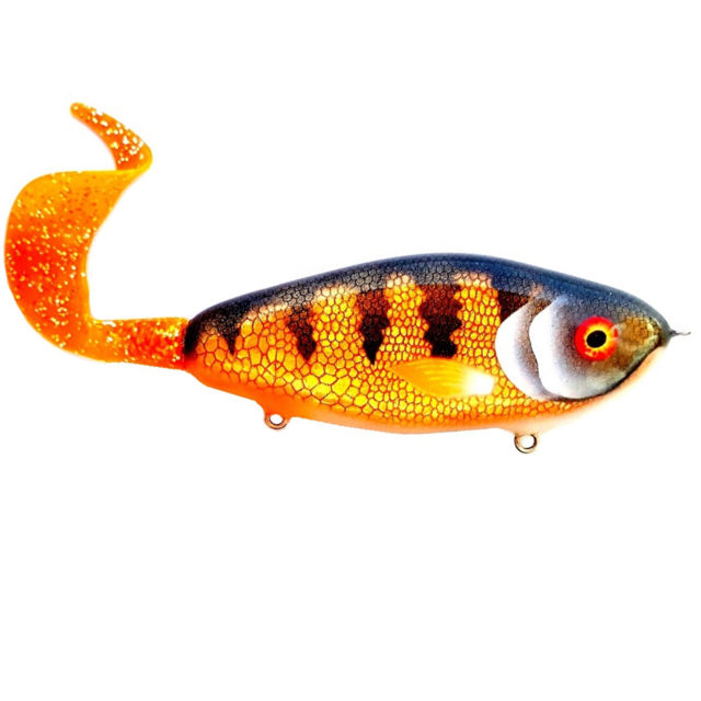 Palych Custom Renegade Chubby Perch Tail Gold Perch